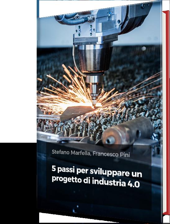 eBook gratuito - 5 passi per sviluppare un progetto di Industria 4.0